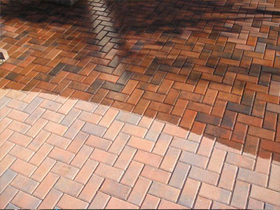 paver cleaning Naples by Collier County Pressure Cleaning