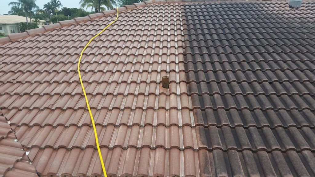 Collier County Pressure Cleaning roof cleaning in Naples, Florida